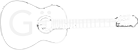 Logo Gö-Gitarre invertiert
